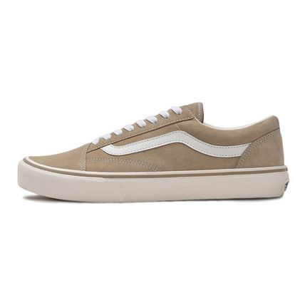 VANS Low-Top Casual Style Unisex Plain Low-Top Sneakers 4