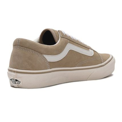 VANS Low-Top Casual Style Unisex Plain Low-Top Sneakers 5