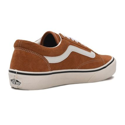 VANS Low-Top Casual Style Unisex Plain Low-Top Sneakers 9