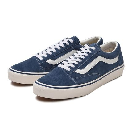 VANS Low-Top Casual Style Unisex Plain Low-Top Sneakers 11