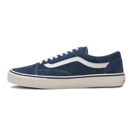 VANS Low-Top Casual Style Unisex Plain Low-Top Sneakers 12