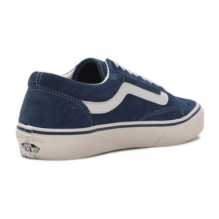 VANS Low-Top Casual Style Unisex Plain Low-Top Sneakers 13