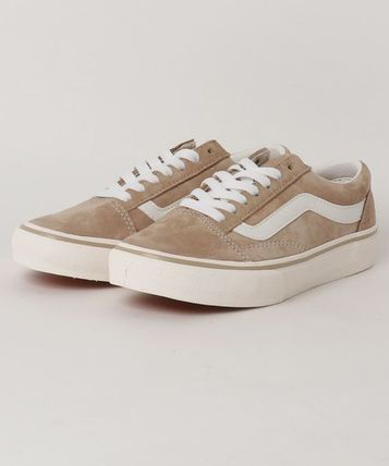 VANS Low-Top Casual Style Unisex Plain Low-Top Sneakers 2