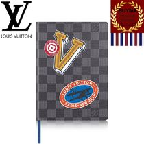 Louis Vuitton DAMIER GRAPHITE Unisex Notebooks