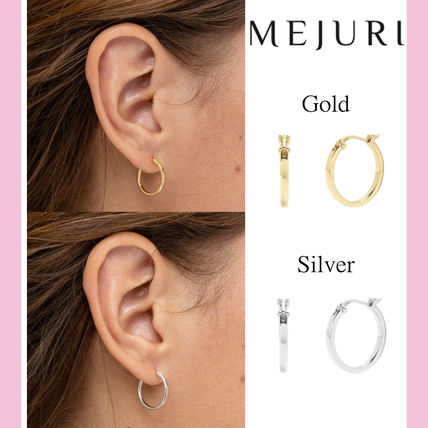 Silver Elegant Style Earrings & Piercings