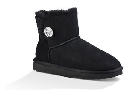 UGG Australia Flat Round Toe Rubber Sole Casual Style Sheepskin Plain 3
