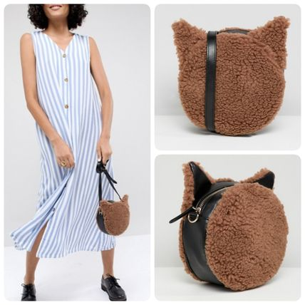 Casual Style Street Style Plain Other Animal Patterns