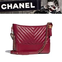 CHANEL Calfskin 2WAY Plain Shoulder Bags