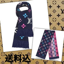 Louis Vuitton MONOGRAM Monogram Wool Heavy Scarves & Shawls