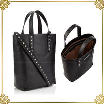 Jimmy Choo Star Casual Style A4 Leather Totes
