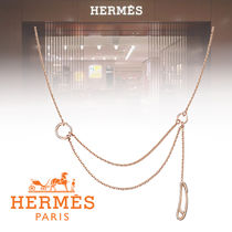 HERMES Chaine dAncre Chain Elegant Style Necklaces & Pendants