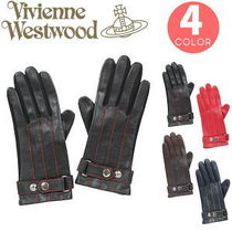 Vivienne Westwood Casual Style Plain Leather Leather & Faux Leather Gloves