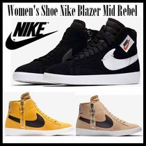 Nike BLAZER Rubber Sole Casual Style Unisex Street Style Bi-color