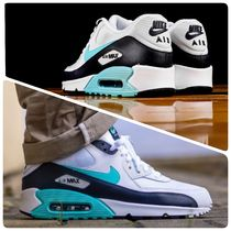 Nike AIR MAX 90 Stripes Unisex Street Style Sneakers