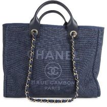 CHANEL DEAUVILLE Totes
