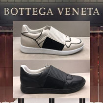 BOTTEGA VENETA Street Style Plain Leather Loafers & Slip-ons