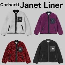 Carhartt Short Leopard Patterns Casual Style Street Style Plain