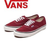 VANS AUTHENTIC Suede Street Style Sneakers