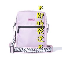 ANTI SOCIAL SOCIAL CLUB Unisex Street Style Plain Messenger & Shoulder Bags