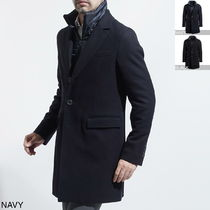 HERNO Wool Long Chester Coats