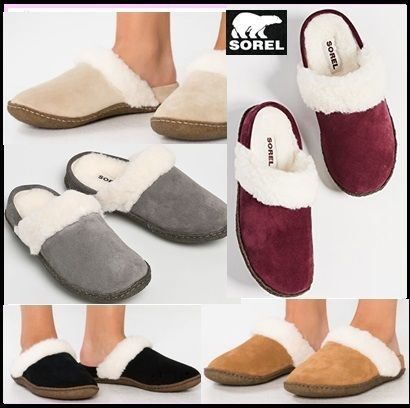Casual Style Suede Plain Slip-On Shoes