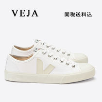 VEJA Wata Round Toe Rubber Sole Lace-up Casual Style Unisex