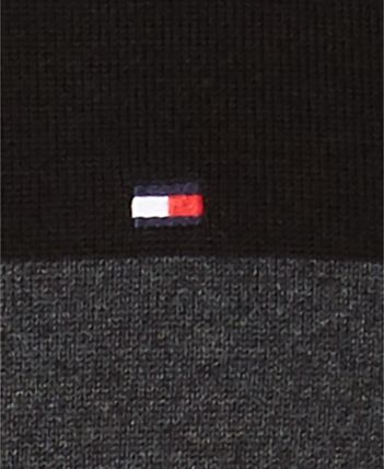 Tommy Hilfiger Knits & Sweaters Crew Neck Bi-color Long Sleeves Cotton Knits & Sweaters 4