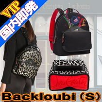 Christian Louboutin Unisex Studded Street Style 2WAY Bi-color Backpacks