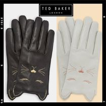 TED BAKER Casual Style Studded Other Animal Patterns Leather