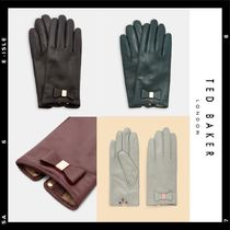 TED BAKER Casual Style Studded Plain Leather