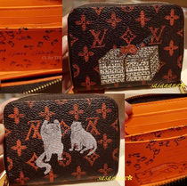 Louis Vuitton MONOGRAM Monoglam Blended Fabrics Other Animal Patterns Leather