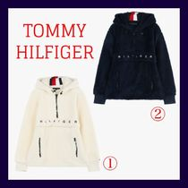 Tommy Hilfiger Long Sleeves Plain Hoodies