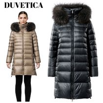 DUVETICA Fur Plain Medium Down Jackets