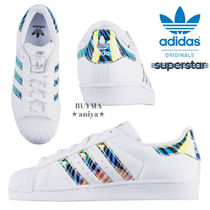 adidas SUPERSTAR Petit Street Style Halloween Kids Girl Sneakers