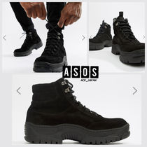 ASOS Mountain Boots Suede Plain Outdoor Boots