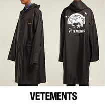 VETEMENTS Casual Style Unisex Street Style Plain Other Animal Patterns