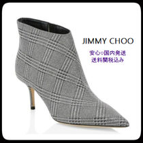 Jimmy Choo Star Leather Pin Heels Elegant Style Ankle & Booties Boots