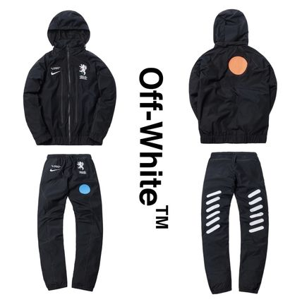 Off-White Hoodies Collaboration Hoodies