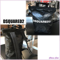 D SQUARED2 Casual Style Plain Backpacks