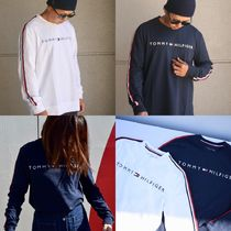 Tommy Hilfiger Street Style Long Sleeves Plain Long Sleeve T-Shirts