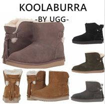 Koolaburra Casual Style Suede Plain Ankle & Booties Boots