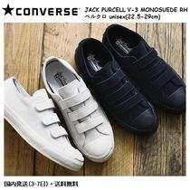 CONVERSE JACK PURCELL Casual Style Unisex Suede Street Style Plain