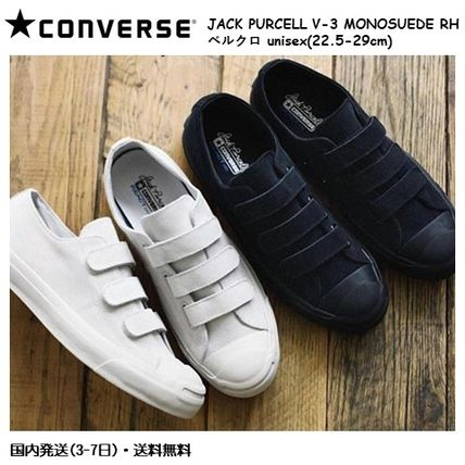 b0460ad0d0103b CONVERSE JACK PURCELL 2018-19AW Unisex Suede Street Style Plain ...