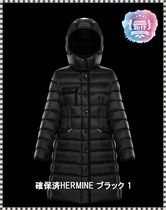 MONCLER HERMINE Plain Down Jackets