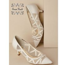 BHLDN Kitten Heel Pumps & Mules