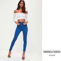 Missguided Casual Style Denim Street Style Skinny Jeans