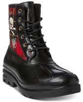 POLO RALPH LAUREN Skull Other Plaid Patterns Mountain Boots Street Style