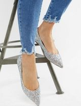 ASOS Casual Style Block Heels Ballet Shoes