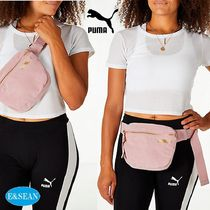 PUMA Casual Style Suede Street Style Plain Shoulder Bags