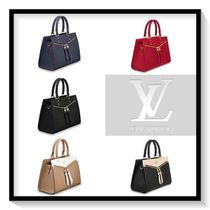 Louis Vuitton Monogram Calfskin Blended Fabrics 2WAY Elegant Style